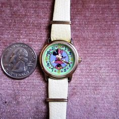 Minnie Mouse watch Disney Disney store exclusive cartoon character wristwatch  vintage quartz rare and hard to find old wristwatch by MYBARTERZONE on Etsy