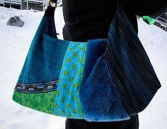 bag in blue
