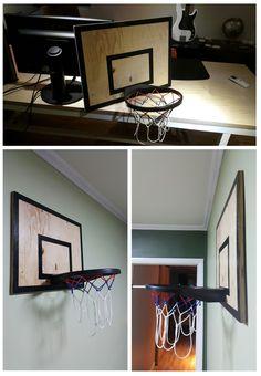 #wood #painting #basketball #basketball stand #upcycling