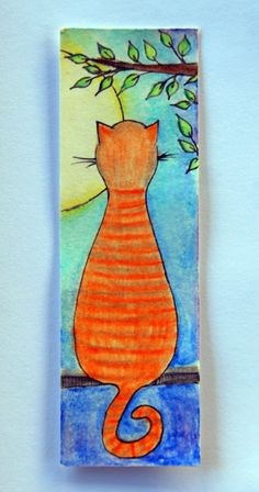 coco.nut: a bookmark with a cat