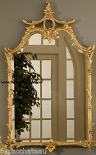 LARGE ORNATE GOLD MIRROR ANTIQUE FRENCH CHINOISERIE REGENCY VINTAGE STYLE NEW