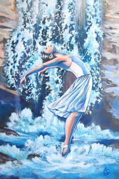 Living Water Scripture Art Print by Tamer and Cindy Elsharouni. All prints are professionally printed, packaged, and shipped within 3 - 4 business days. Choose from multiple sizes and hundreds of frame and mat options. Praise Dance, Praise And Worship, Scripture Art, Bible Art, Scripture Painting, Living Water Scripture, Bride Of Christ, Prophetic Art, Dance Art