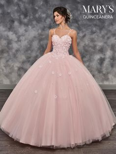 Rappy back. Ce-up closure. D sweep train. Marys quinceanera collection dress m. Xv Dresses, Quince Dresses, Ball Gown Dresses, Dressy Dresses, Cute Dresses, Beautiful Dresses, Prom Dresses, Elegant Dresses, Summer Dresses