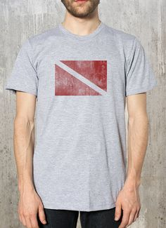 Hey, I found this really awesome Etsy listing at http://www.etsy.com/listing/153659719/diver-in-water-flag-mens-nautical-t