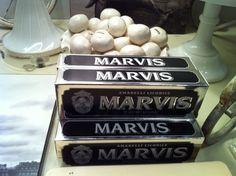 Marvis Licorice Toothpaste   watsonkennedy.com