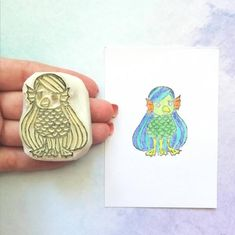 Stamp, Boutique Etsy, Tampons, Accessories, Day Planners, Ink Stamps, Fish, Stamps, Jewelry Accessories