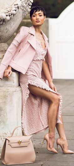 Everything Pink Outfit Idea by Micah Gianneli