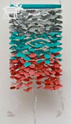 Mermaid Mobile / Ocean Mobile / Sea Mobile by CinnamonMooseCrafts