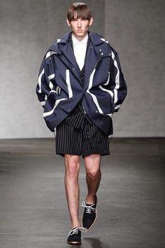 E. Tautz Spring 2015 Menswear Collection Slideshow on Style.com