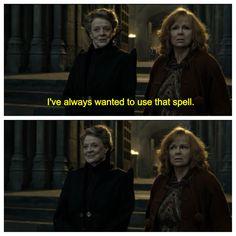 #Harrypotter Lol her face