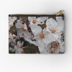 White Springs, Spring Blossom, Zipper Pouch, Makeup Yourself, Are You The One, Coin Purse, Vibrant, Canvas, Prints