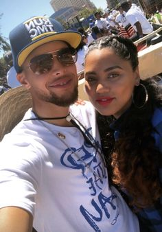 Stephen and Ayesha Curry Wardell Stephen Curry, Stephen Curry Pictures, Splash Brothers, Ayesha Curry, Nba Championships, Draymond Green, Bae Goals, Black Celebrities, Kevin Durant