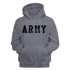 U.S. ARMY Hoodie / US ARMY Hooded Sweatshirt Army Usa, Us Army, Marla Singer, Rocky Balboa, United States Army, Movie T Shirts, Cool Hoodies, Pullover, Mens Sweatshirts
