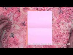 How to make book binding -   Wie man ein DIN A6 Heft ganz einfach selbst binden kann