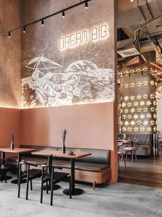 Russian Aeronautics and Space Travel Set the Theme at Moscow's Cafe Polet by Asthetíque