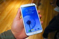 Samsung Galaxy Note II for Sprint hands-on - Engadget Galleries ... MY NEXT PHONE! #dazehub