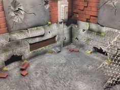 Destroyed Alleyway Corner.