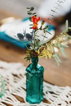 Free-Spirited Vintage Bohemian Wedding Decor Ideas | bespoke-bride.com |