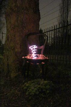 neon broken spring