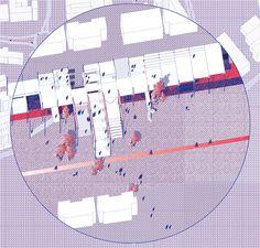 VIA A66 Space Popular's urban vision for the redevelopment of Highway A66 in Oviedo, Spain. The modular structural system bridges neighbourhoods together and performs as deceleration tunnel.  Design Team: Lara Lesmes, Fredrik Hellberg, Jariyaporn Prachasartta, Kanyaphorn Kaewprasert, Kornkamon Kaewprasert