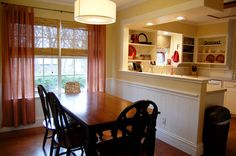 #kitchen another view of what it could like if we removed the wall between kitchen & dining room