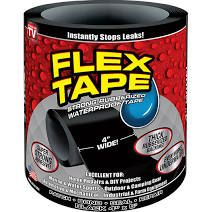 Flex Tape Is A Super Strong Rubberized Waterproof Can Patch Bond