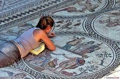 Mosaico de los Amores en Cástulo, Linares