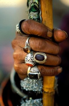 Hand of a Sufi in Pakistan
