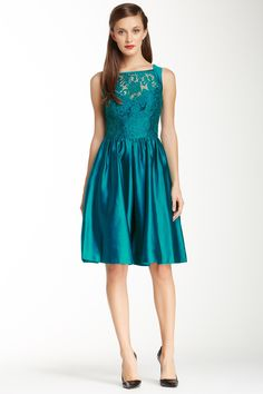 Theia Lace Twofer Dress by Theia on @nordstrom_rack