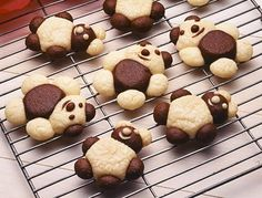 Teddy bear cookies.. nuff said. Lol.
