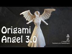 How to make an origami Angel 3.0 (Tadashi Mori) - YouTube