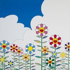 Takashi Murakami, 'Flower 2', 2002
