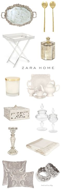 Zara Home - In love with everything! | pearlsandlaceblog.com..wait!! stop the press...zara has home items?