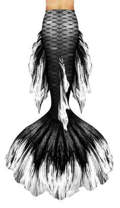Black Betta Mermaid Tail   Hydra Mermaid Tails   Swimtails