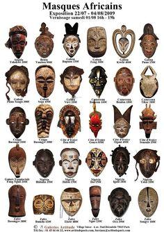 Arts: African masksVisual Arts: African masks African Masks Art Print at STL models for CNC set 9 models totems Tribal ethnic african mask big set on whate background. African Art Projects, Ethno Design, Afrique Art, Art Tribal, Art Premier, Black Artwork, African Tribes, Masks Art, African Masks