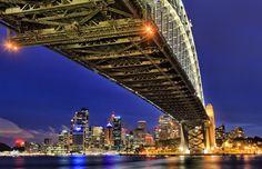 sydney harbour bridge 40mm/ƒ/7.1/20s/ISO 100