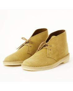 5bf2871f5df2 Clarks - Natural Desert Boot for Men - Lyst Clarks Desert Boot