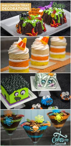 Add cupcake rings and picks to your Halloween treats to make them extra special. Find Halloween cake decorating supplies here.