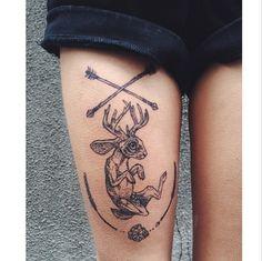 tattoo by Pony Reinhardt in Portland, OR ~ IG: freeorgy