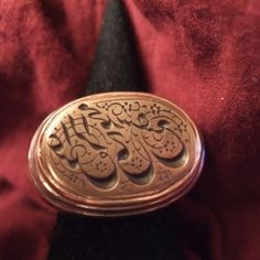 Silver, gold, copper, intaglio, Iran  Description    This  Persian ring ( safavide) in silver is partially in gold and copper and the mounting is recent…  Size:8,5 adaptable  Weight:29gr