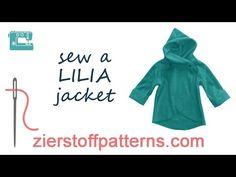 LILIA fleece jacket - plus size sewing pattern - sizes Womens XXL-XXXL ~ Zierstoff