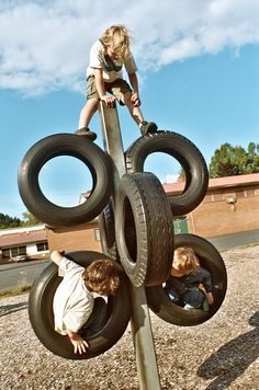 Craft Upcycled Used Tires on Pinterest