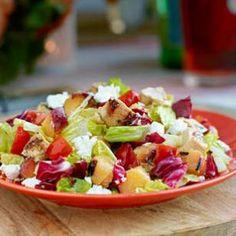 Grilled Chicken & Nectarine Chopped Salad