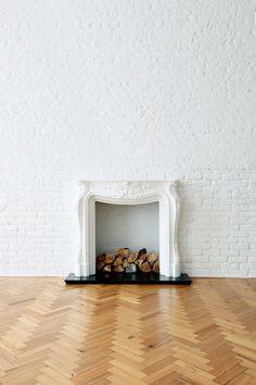 #Interior #Flooring #Fireplace