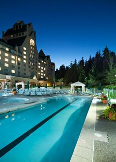 Whistler's spectacular landmark hotel, the Fairmont Chateau Whistler, defines mountain luxury. The Chateau has proudly held the distinction as Canada's #1 Golf Resort and #1 Ski Resort by Condé Nast.  Truly feel like a VIP when you book with Travel with Terra and get these Exclusive Terra Perks **Full Breakfast for two daily, Voucher for two Signature Martinis, Souvenir Martini Shaker Set & Complimentary basic internet.
