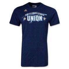 Philadelphia Union woodmark t-shirt NWT MLS Zolos The U Soccer new with tags