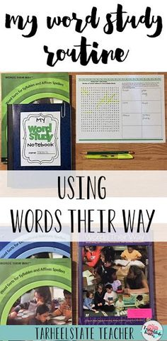 Bring a word study routine into your elementary classroom or homeschool. See exactly how I make word study with Words Their Way work in my classroom. While the post is geared mostly for your and grade upper elementary students - you can 6th Grade Ela, 4th Grade Writing, 5th Grade Reading, Teaching Writing, Guided Reading, Fourth Grade, Third Grade, Grade 3, Teaching Vocabulary