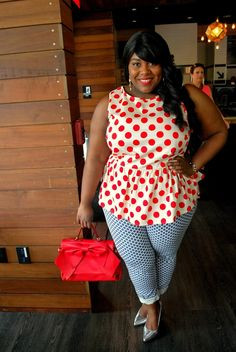 Musings of a Curvy Lady: Spotted Plus Size Chic, Plus Size Casual, Curvy Girl Fashion, Plus Size Fashion, Curvy Girl Quotes, Swagg, Plus Size Women, Diva, Casual Outfits