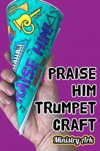 Preschool Lessons, Lessons For Kids, Bible Lessons, Sunday School Crafts For Kids, Sunday School Lessons, Kids Trumpet, Psalm 150, Children's Church Crafts, Kids Church
