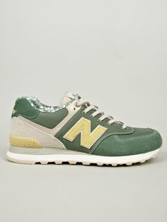 New Balance Men's Surfer Green ML574OST Made in USA Sneakers | oki-ni